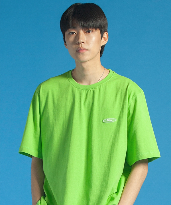 [CHUCK] 19 SUMMER CHUCK RUBBER LABEL T-SHIRT