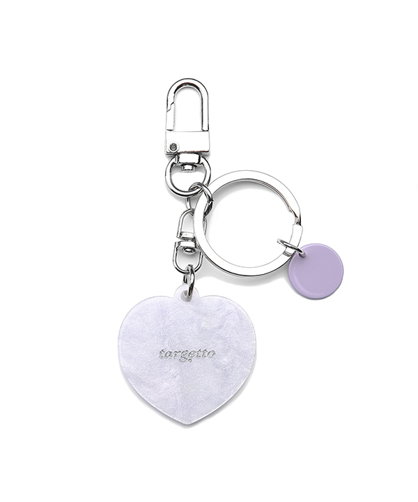 [TARGETTO] HEART LOGO KEY RING / ハートロゴキーリング