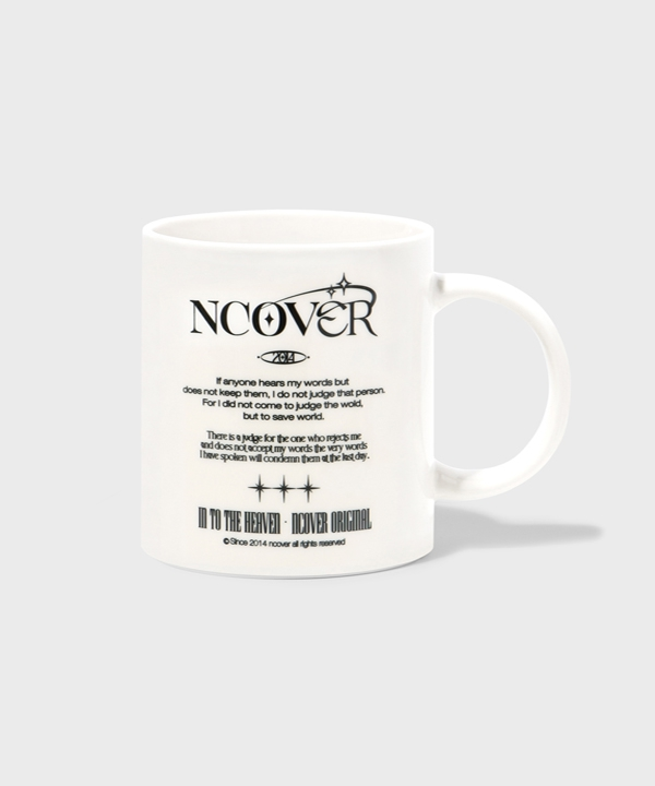 [NCOVER] IN TO THEヘブン テキストマグカップ / IN TO THE HEAVEN TEXT(MUG CUP)