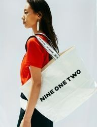 [NINEONETWO] Tyvek Shopper Bag