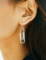 [NINEONETWO] Silver Clip Earring