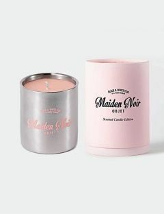 [MaidenNoir] candle stainless pink
