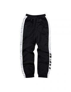 [LEVARN] COLOR BLOCK TRACK PANTS
