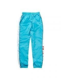 [LEVARN] COLOR BLOCK TRACK PANTS [SKYBLUE