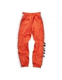 [LEVARN] COLOR BLOCK TRACK PANTS [ORANGE]