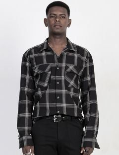[BLESSED BULLET] B0973 NORMAL CHECK SHIRTS