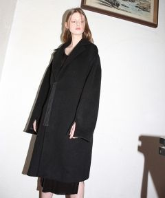[CLUTSTUDIO] 1 3 oversize belted zipper coat