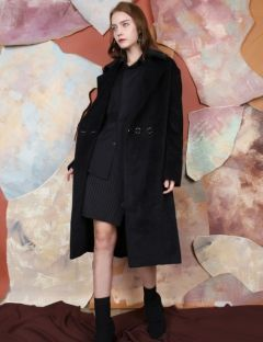 [S.Y.LEE] 17 A/W DOUBLE 3 BUTTON OVERSIZED COAT