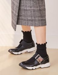 [SOFT SEOUL] 17w, Leather Buckle Sneakers