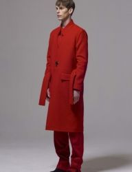[BY D BY] one button long coat