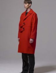 [BY D BY] two blet oversize coat