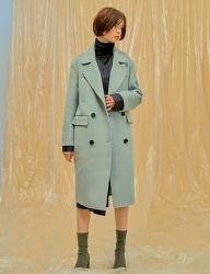 [1159STUDIO] MH4 DOUBLE HANDMADE WOOL COAT