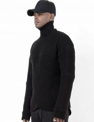 [BLESSED BULLET] B0973 TURTLENECK KNIT