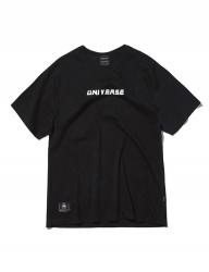 [GROOVERHYME] 2018 BACK TEXT PRINT T-SHIRTS