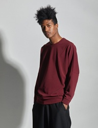 [VANDALIST] DART SWEAT SHIRTS WINE