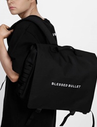 [BLESSED BULLET] SIGNATURE MESSENGER BACKPACK