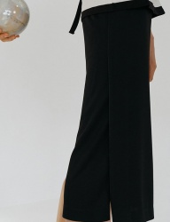 [nuissue] PK SLIT SKIRT