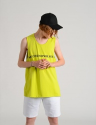 [costume oclock] SECONDMONOLOGUE SLEEVELESS TEE
