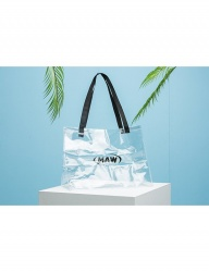 [MAW] Signature Logo PVC Bag