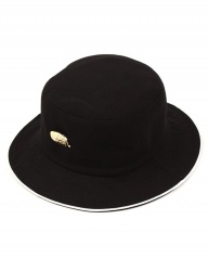 [UNIVERSAL CHEMISTRY] Gold Metal Piping Bucket Hat