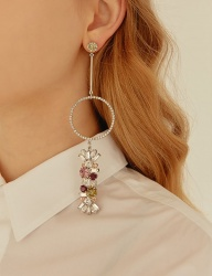 [MATIAS] White glory Earring (Single)