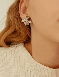 [MATIAS] Peach bloom Earring
