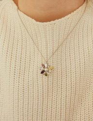[MATIAS] Peach bloom Necklace