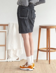 [TARGETTO] DENIM SKIRT