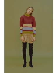[margarin fingers] puff sleeve knit