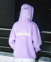 [HOMMMIE] [HOMMMIE]21c Come back hoodies zip-up (lavender)