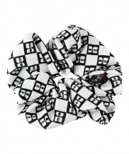 [bpb club] CHECKY LOGO HAIR SCRUNCHIE