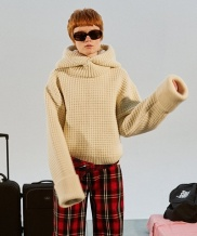 [TRUNK PROJECT] Waffle Knit Hoodie Set-up