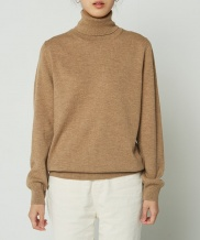 [whatever we want] WOOL100 TURTLENECK SWEATER