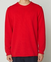 [whatever we want] COTTON ROLLING SWEATER