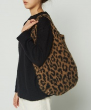 [whatever we want] LEOPARD MOHAIR BAG