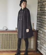 [INES] RAGLAN WOOL COAT