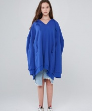 [INDIGO CHILDREN] OVERSIZED V-NECK HOODIE