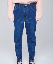[INDIGO CHILDREN] REMAKED BAGGY JEANS [MEN]