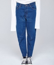 [INDIGO CHILDREN] REMAKED BAGGY JEANS [WOMEN]
