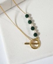 [MIDNIGHT MOMENT] way necklace
