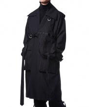 [MANODDIOS] Triple Tech Overfit Trench Coat