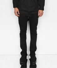 [DOZOH] T2 TUNNEL BELTED STRAIGHT JEAN