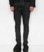 [DOZOH] TUNNEL BELTED STRAIGHT JEAN