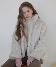 [nuissue] CURLY FUR JACKET