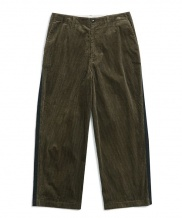 [OVERCAST] Wide Corduroy Side Tape Pants