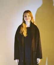 [A NOTHING] OVERSIZE WOOL CHESTERFIELD COAT