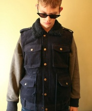 [Oct.3] FUR CALLOR POCKET VEST
