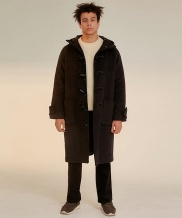[WUZU STUDIO] WUZU OVER LONG DUFFLE COAT