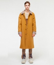 [THE GREATEST] GT18FW09 CHECK WOOL COAT