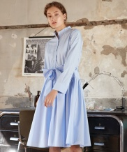 [YouNess] Gather Shirtdress